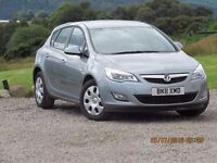2011/11 VAUXHALL ASTRA 1.6 ES. 2 FORMER KEEPERS, SERVICE HISTORY, LOWER PRICE