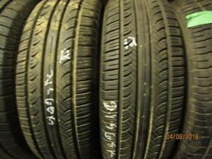 215/60R16 2 ONLY USED YOKOHAMA A/S TIRES
