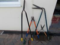 small collection of garden tools please see pitures