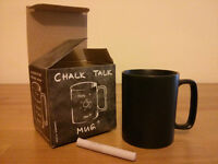 "New ""chalk talk"" mug - ideal for a gift!"