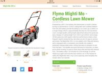 Flymo Mighti mo brand new boxed
