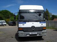MERCEDES BENZ ATEGO RECOVERY 2001