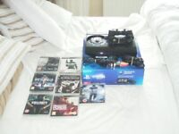 playstation3 console as new and 7 games