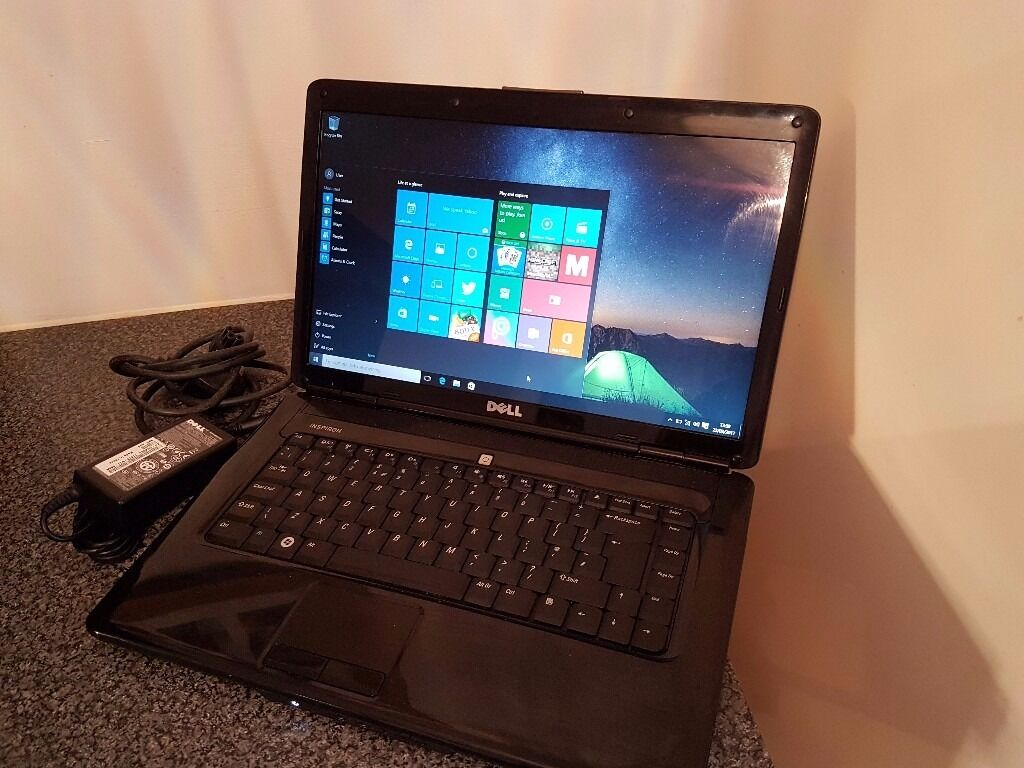 Cheap Dell 1545 Laptop Intel Pentium Dual core T34002.16ghzin Broadstairs, KentGumtree - Cheap Dell 1545 Laptop Intel Pentium Dual core T3400 @ 2.16ghz 2gb ram 320gb harddrive Intel graphics Dvdrw USB WiFi Sd card reader Headphone mic ports Ethernet 15.6 HD led screen Genuine windows 10 home fully licensed Battery holds a charge Complete...