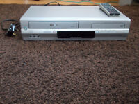 DVD Player VHS Combi