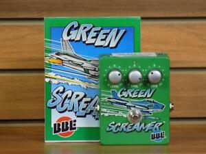 Pédale overdrive BBE Green Screamer ( U044969)