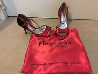 Dance shoes -Madeselva Tango shoes with red soles