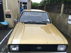 1980 Mk2 ford Escort gl 1.3 classic ford restoration barn find easy Project untouched now sold