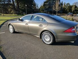 Mercedes CLS 500 7G, 2005, 82k Miles, Two Owner, Loaded