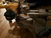 Dw712 110v compound mitre saw