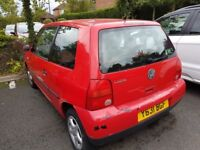 VW Lupo 2001 (81k mileage) - VERY LOW PRICE - £285 - First to see gets it