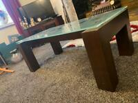 Coffee Table and matching 3 tier Side tables