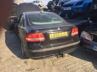 2006 SAAB 9-3 DTH VECTOR SPORT (AUTOMATIC DIESEL) FOR PARTS ONLY