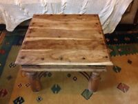 Indonesian solid wooden coffee table