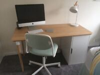 Desk and chair - excellent condition