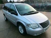 2005 54 chrysler voyager diesel auto 7 seats