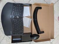 Perixx Mouse and ergonomic keyboard Wireless PERIDUO-606