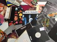 "Record Collection- over 45 80's 12"" singles including white label promos and pic. discs £20 the lot"