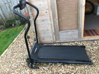 Fold away Treadmill as new