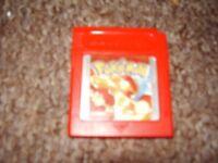 NINTENDO GAMEBOY GAME POKEMON RED ORIGINAL