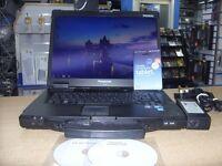 Panasonic Toughbook i5 4gb Ram 128gb ssd, wifi 3g Windows 7