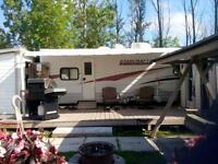 36' trailer for sale at  Victoria Lodge in St-Charles