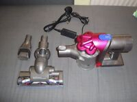 one day sale dyson dc35 animal, perfectly working , with roller brush head and 2 in one attachment