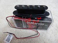 Dimarzio ISCV2 Steve Vai Evolution Single Coil Middle Pickup in Black