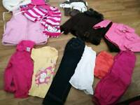 Bundle of girls clothes 2-4 years