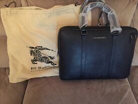 Burberry mens briefcase