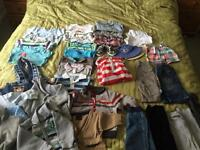 Baby Boy Clothes Bundle 3-6 months 👶🏼 34 items