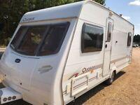 2006 Lunar Quasar EB Caravan – 4 Berth With Fixed Bed
