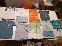 Baby boys next 3-6 months summer bundle shorts tshirts br7