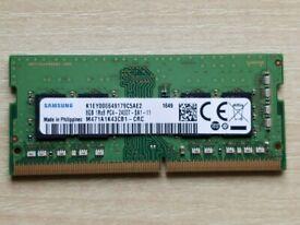 Samsung 8GB DDR4 2400 SODIMM laptop memory *Used*