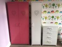 Girls bedroom furniture from Next