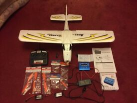 Ares Gamma 370 Pro Ready To Fly Remote Control Model Plane