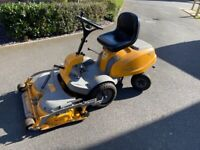 Stiga Villa 14HST ride on lawn mower.