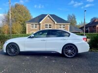 BMW, 3 SERIES, M SPORT with FACTORY FITTED BLACK PACK Saloon, 2013, Manual, 1995 (cc), 4 doors