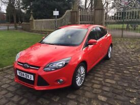2014 Ford Focus 1.0 EcoBoost Zetec Navigator 5dr Petrol Manual (start/stop)