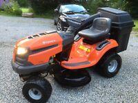 SOLD - Ride on mower / garden tractor - Husqvarna LT 151