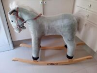 Pony Stable rocking horse with sound effects in good condition