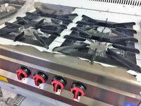 4 Burner Pimac Top Table Gas Cooker EN330 SR