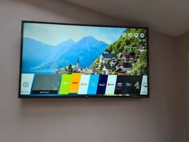 smart lg 50 inch full hd led tv with webos+built in apps+wifi+remote+wall bracket+DELIVERY