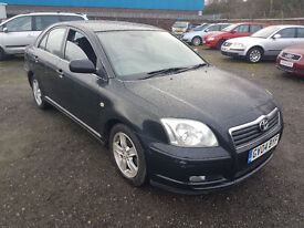 2004 TOYOTA AVENSIS 1.8 PETROL,, CHEAP PART CLEARENCE,,, EXCELLENT DRIVE,