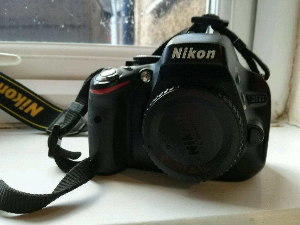 Nikon D5100 Body Mint Shutter Count 3622