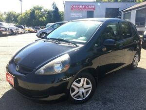 2008 Honda Fit DX | Fuel Efficient | 5 Speed Manual | All Power