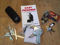 Locking picking set