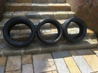 tyres 17 & 19 inch michelin goodyear dunlop 5-7mm NEWCASTLE BELFAST can meet deliver rims alloys