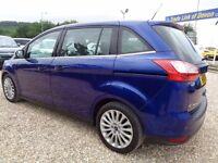 FORD GRAND C-MAX 2.0 TDCi Titanium Powershift 5dr (7 Seats) Auto (blue) 2014