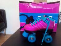 girls roller skate shoes size 13